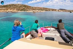 escursione giornaliera in barca