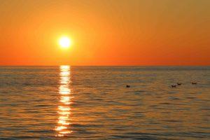 escursione asinara tramonto