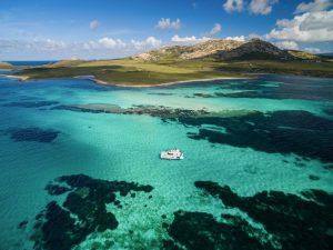 escursione giornaliera catamarano asinara