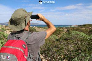 Fotografando la Spiaggia più bella dell'Isola Cala Sant'Andrea Parco Nazionale dell'Asinara