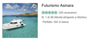 Recensioni TripAdvisor Futurismo Asinara