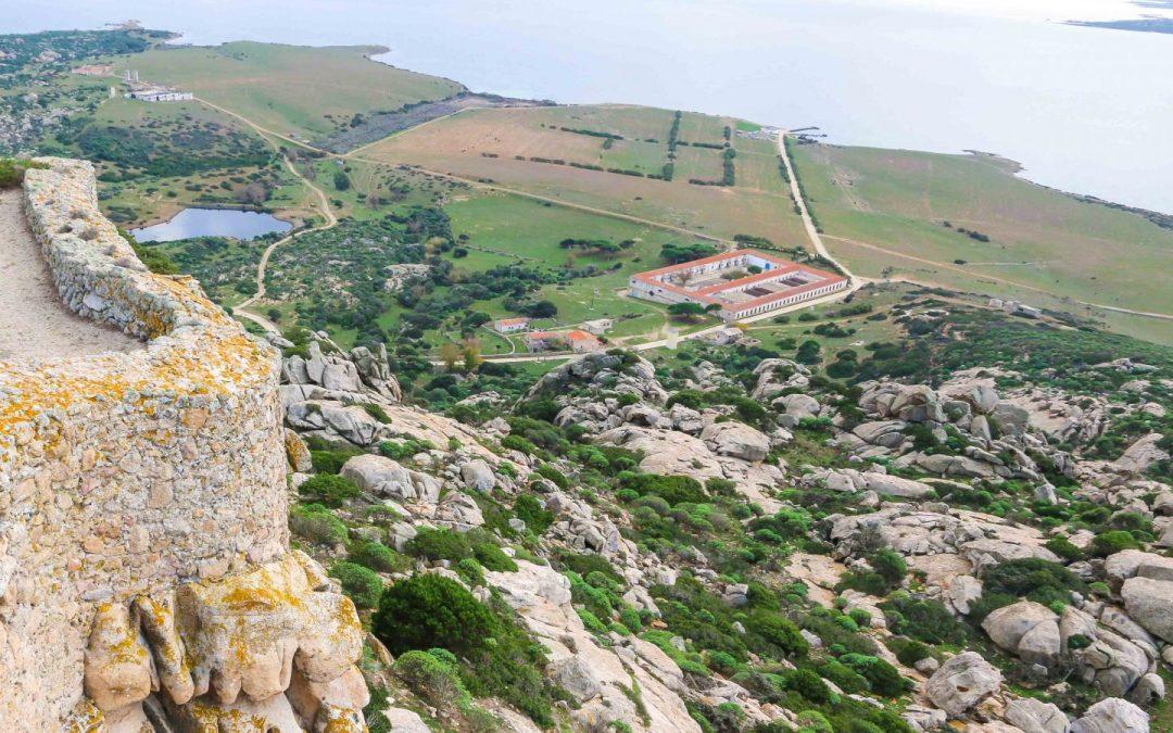 La storia dell'Asinara: Gli anni del supercarcere, Carceri Asinara