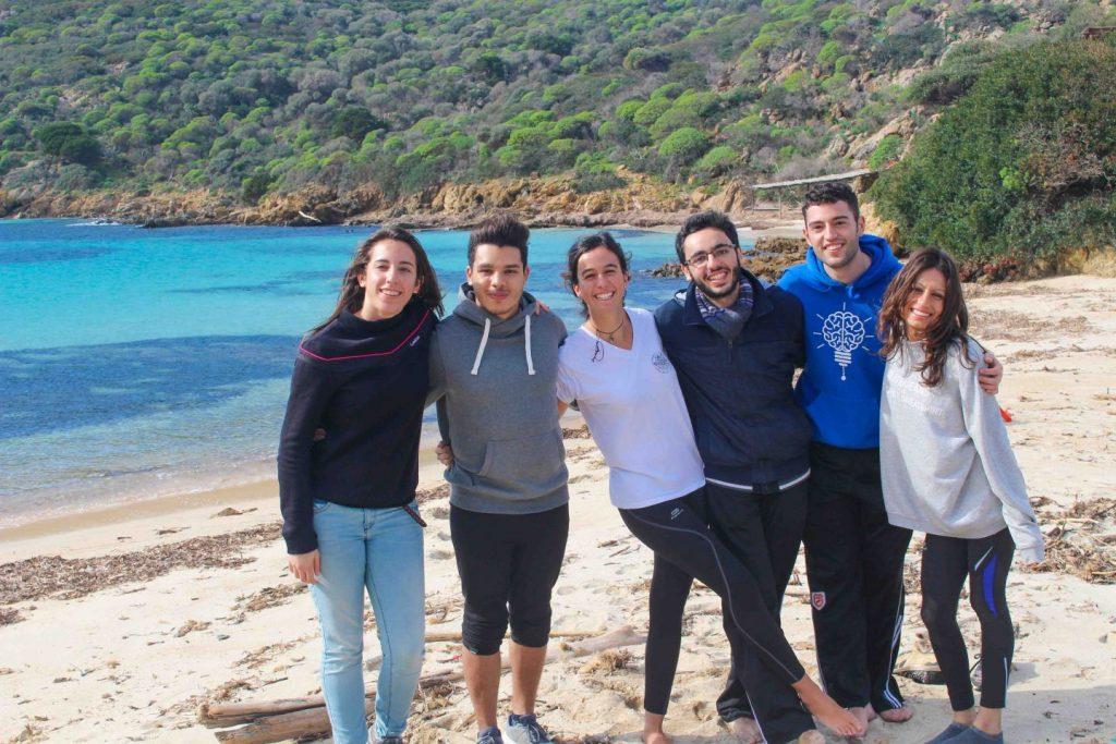 hiking Asinara