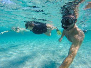 snorkeling Asinara