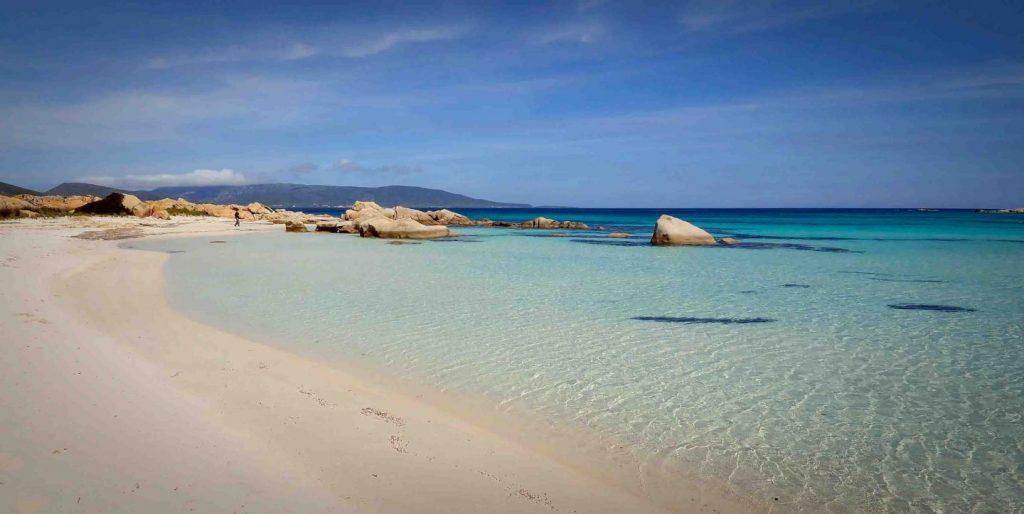 La Spiaggia di Cala Sant'Andrea, Zona riserva integrale. Foto di Bobore Frau ©.