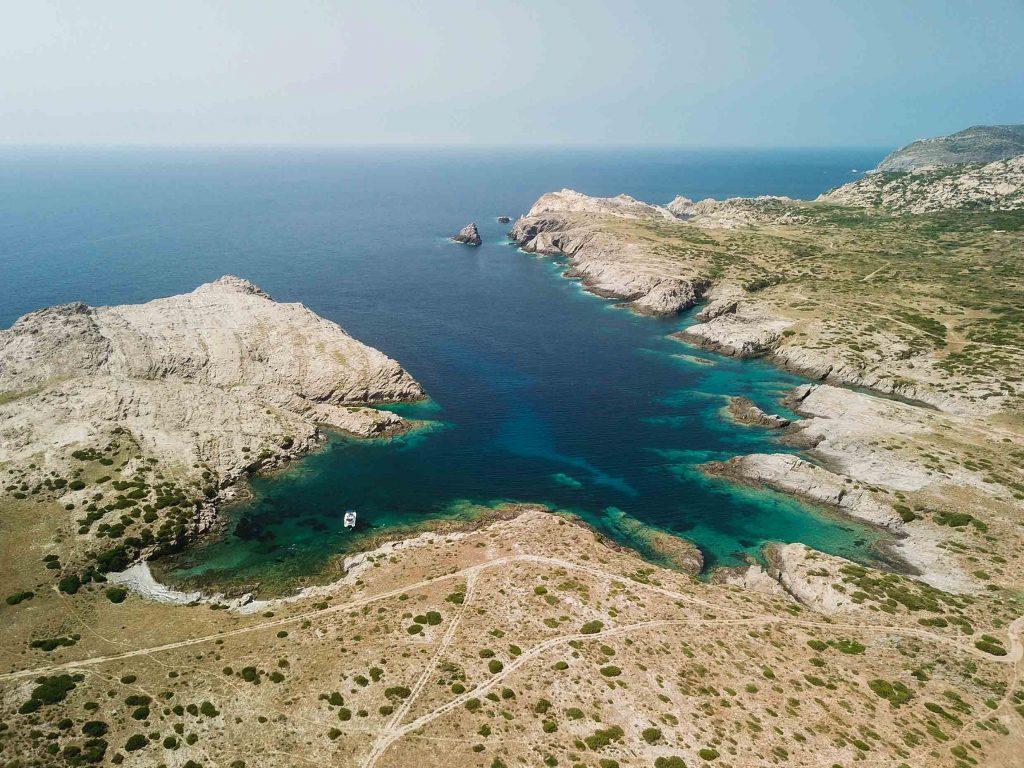 Porto Mannu di Fornelli, si trova a Sud Ovest dell'Isola dell'Asinara. Foto Claudio Serra ©.